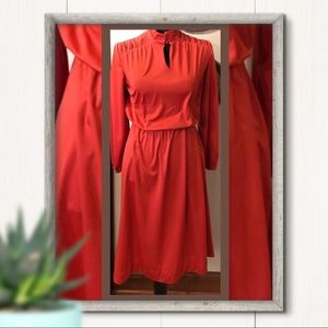 Beeline Fashions Vintage Long Sleeve Dress Size S